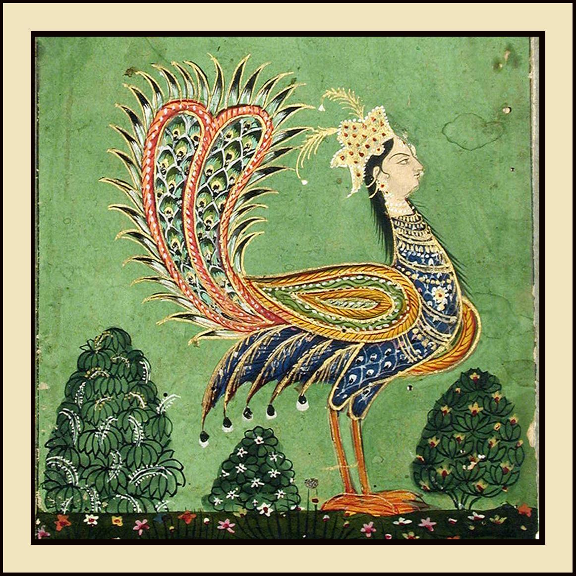 Humà, l'uccello della fortuna