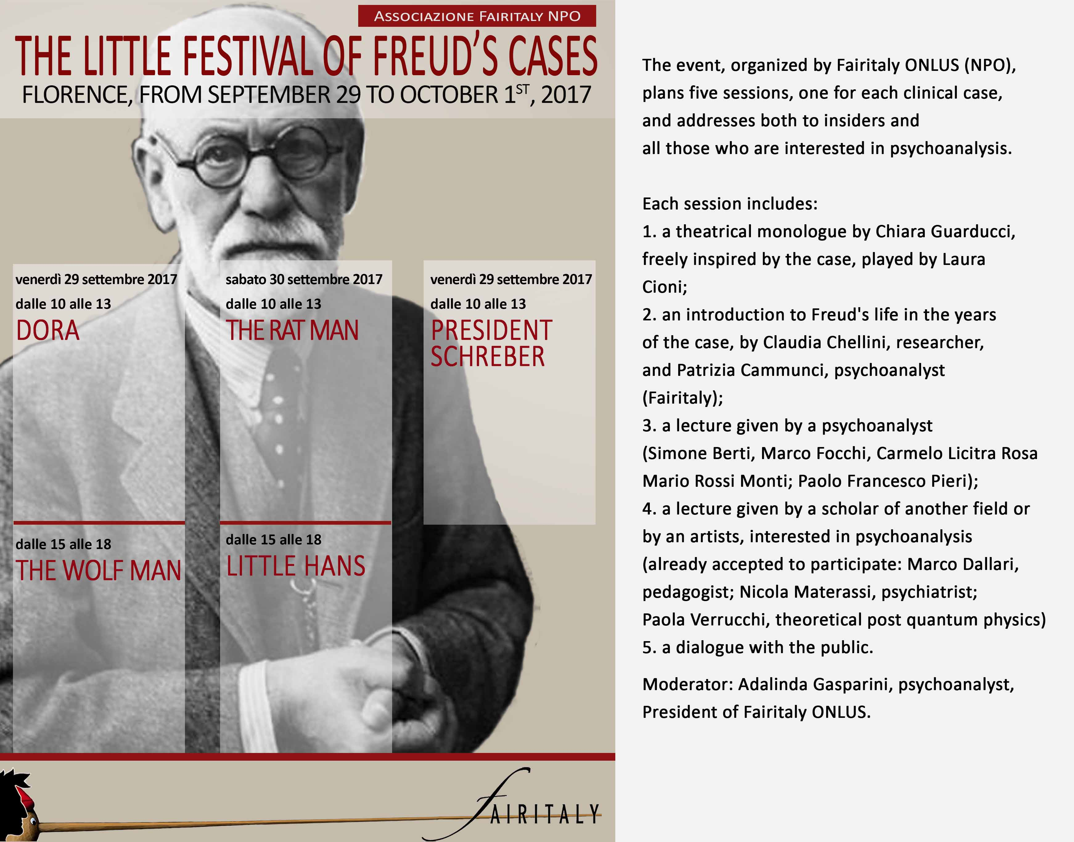 The Little Festival of Freud's Cases